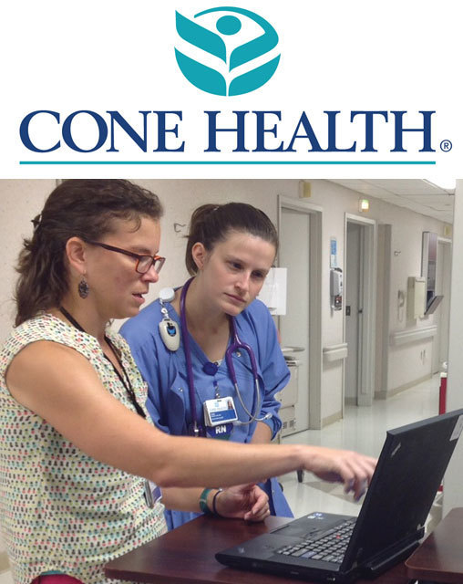 Access to the Cone Health Medical Library