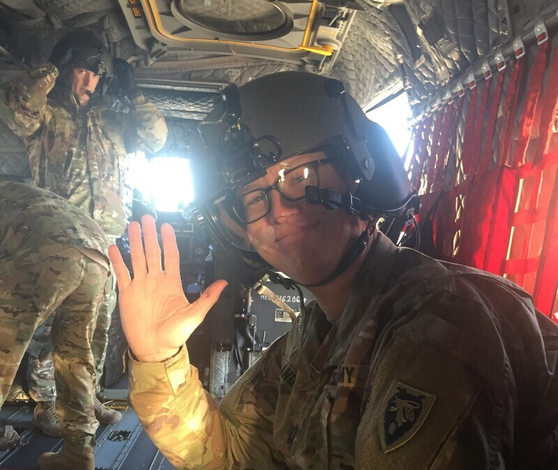 Story Spotlight:<br />Family Medicine Resident Finishes Army Flight Surgeon Training